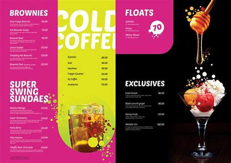 ice cream parlour menu ice cream menu menu cards menu