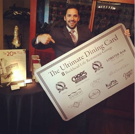 Buckhead Life Restaurant Gift Card - 20 best ultimate dining card images on pinterest