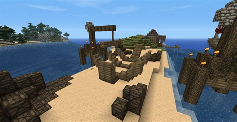 minecraft dock a boat medieval boat yard and dock minecraft project