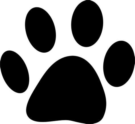 Cetak Stiker Transparant 9 Cm muurstickers dieren hondenpoot jl design md369