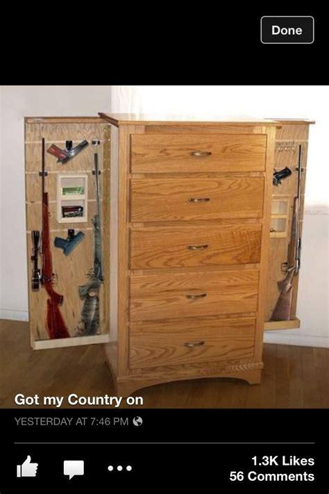 Dresser With Gun Storage by Gun Cabinet Home Hobbies