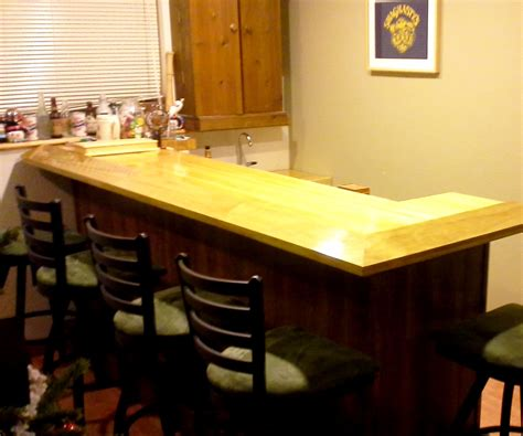 bowling lane bar top home bar with reclaimed bowling alley bar top 5