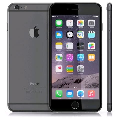 Hp Apple Iphone 6 Plus 64gb apple iphone 6 plus b stock generic box unlocked 64gb space grey iphone6 bstock sg64
