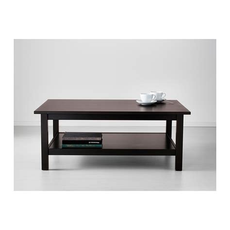 hemnes coffee table black brown 118x75 cm ikea