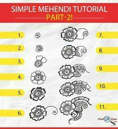 step by step tutorial for henna pattern our external step by step tutorial for henna pattern our external