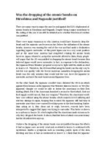 Hiroshima Essay by Atomic Bomb On Hiroshima Essay Lynhuggins Web Fc2