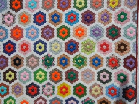 Grandmothers Flower Garden 17 Best Images About Quilt Hexagons On Gardens Quilt And Grandmothers