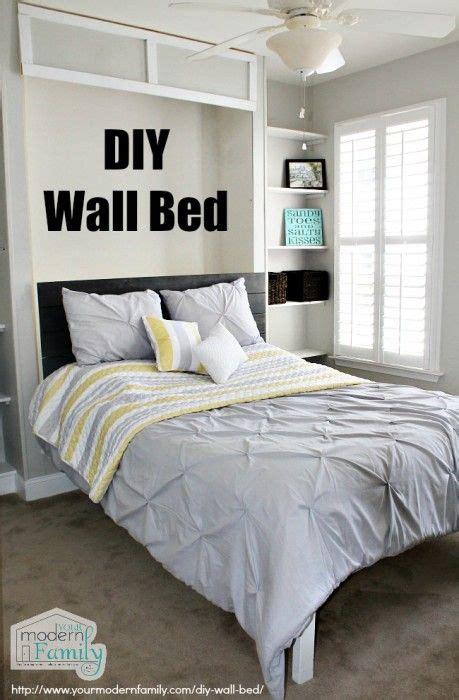 Diy Bedroom Oasis 17 Best Ideas About Murphy Beds On Diy Murphy