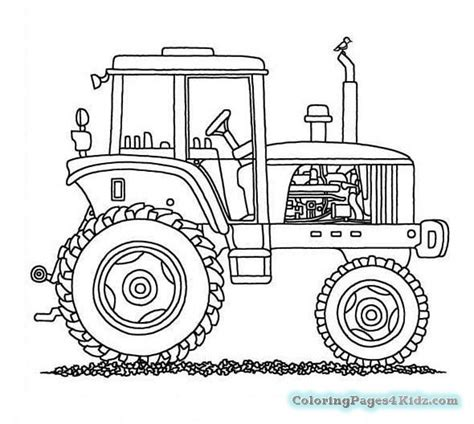 coloring page of tractor and snow plow tractor with a plow coloring pages coloring pages for kids