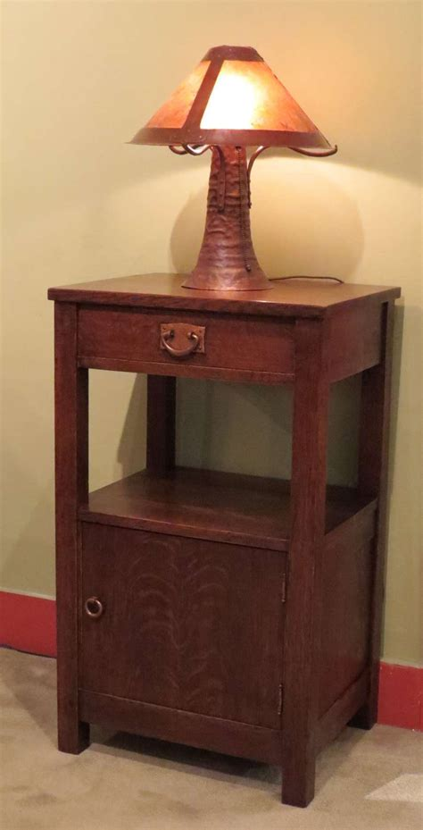 Stickley Nightstand extremely gustav stickley nightstand california historical design
