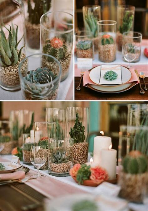 best 25 cactus centerpiece ideas on cactus wedding succulent table decor and