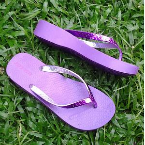 Sandal Wedges Jepit Jelly jual jelly sandal jepit bara bara wedges all you can