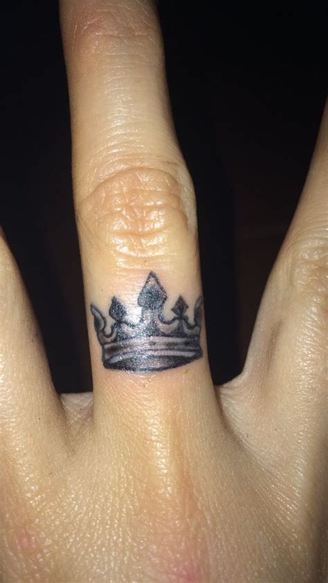 crown tattoo on hand crown finger designs ideas and meaning tattoos