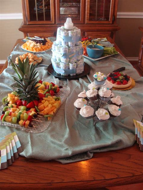 Fruit Table For Baby Shower by Baby Shower Food Table Baby Shower Food