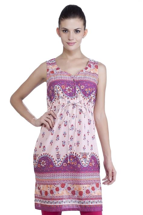 mb womens ethnic printed dress with fitted waist in sattva