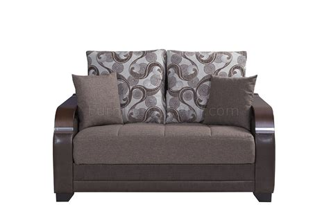 reina sofa la reina sofa bed in brown fabric by casamode w options