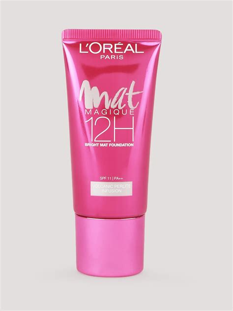 L Oreal Mat Magique Foundation buy l oreal matte magique 12h matte foundation for