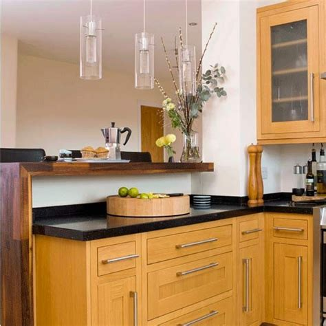 kitchen breakfast bar ideas walnut kitchen breakfast bar kitchens kitchen idea image housetohome co uk