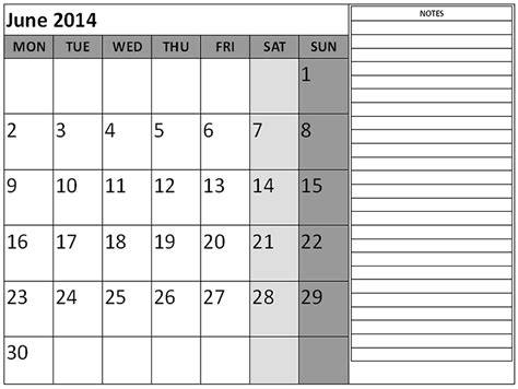 june 2014 calendar template 6 best images of june 2014 calendar printable pdf june