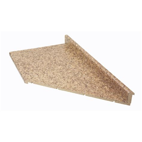 Belanger Laminate Countertops by Shop Belanger Laminate Countertops 10 Ft Quarry Miter Cut Laminate Kitchen