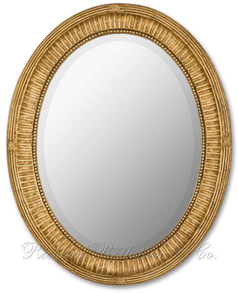 oval mirror traditional gold oval mirror