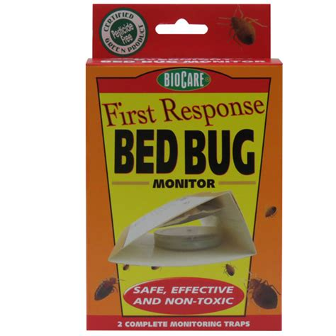 bed bug monitor first response bed bug monitor trap