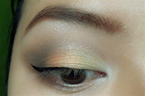 Eyeshadow Coklat Muda shimma sunset hasgoodlook
