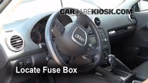 interior fuse box location 2006 2013 audi a3 2008 audi a3 quattro 3 2l v6
