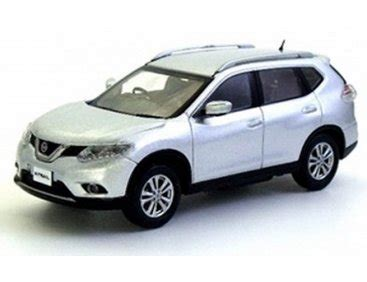 1 43 Kyosho Nissan X Trail T32 Nissan Rogue Diecast Silver kyosho 1 43 nissan x trail t32 silver image