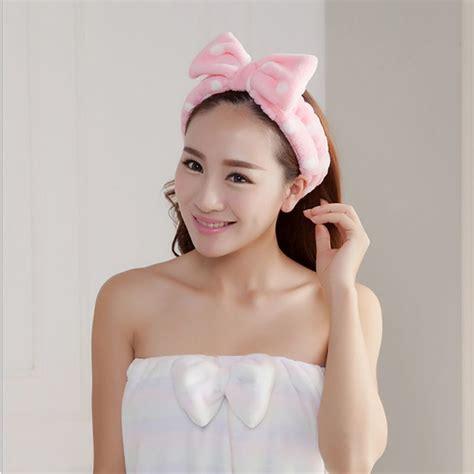 spa bath shower spa bath shower make up wash cosmetic headband hair