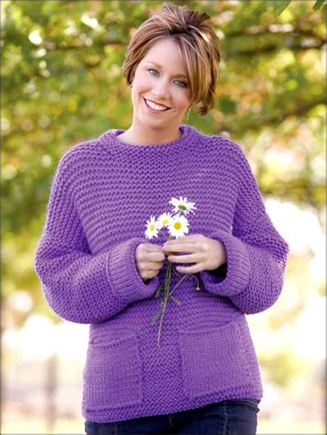 womens jumper knitting patterns free free sleeved sweater knitting patterns purple pop