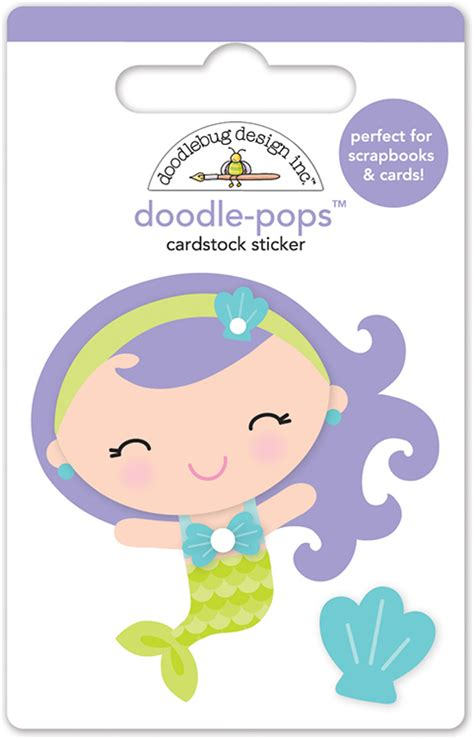 doodlebug the sea doodlebug design the sea doodle pops mini mermaid 3