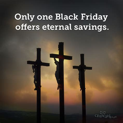 only one black friday the jesus question