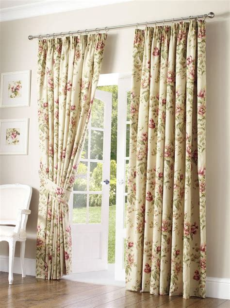 Floral Design Curtains Modern Furniture Luxury Living Room Curtains Ideas 2011