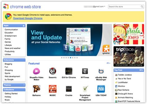 themes google chrome store chrome web store applications extensions et th 232 mes