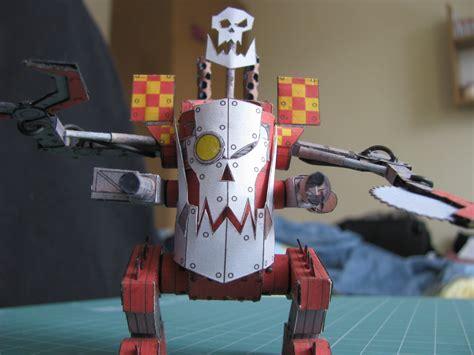 Warhammer 40k Papercraft - deff dread warhammer 40k papercraft by kotlesiu on