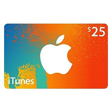 Adding Itunes Gift Card To Account - 25 itunes gift card staples