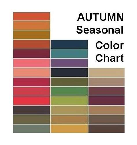 autumn color palette the french touch the colors of fall 2013 earth and fire