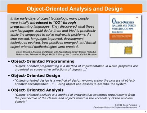 pattern oriented analysis and design pdf lecture 2 software engineering and design object oriented