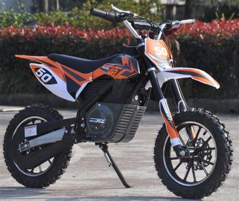 kids electric motocross bike electric dirt bike for kids mototec 24v 500w orange
