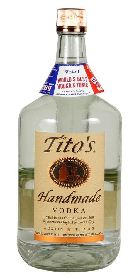 Tito Handmade Vodka - tito s handmade vodka 1 75l spirits