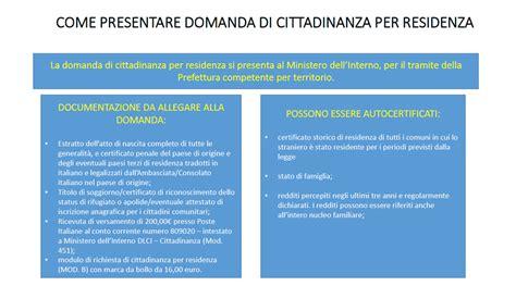 ministero interno stato domanda cittadinanza cittadinanza italiana benvenuti a caserta