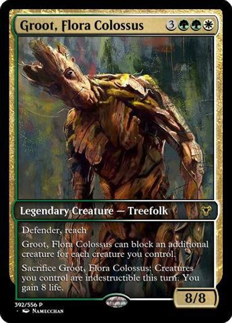 Guardians of the Galaxy Magic: The Gathering Cards Set