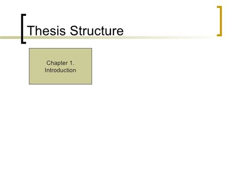 ma dissertation structure literature review phd