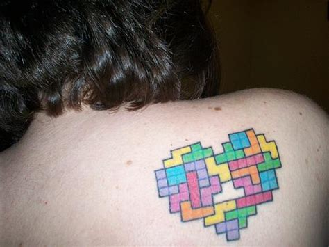 tetris tattoo images tetris