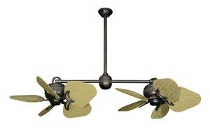 Dual Outdoor Ceiling Fan Dans Fan City Miami Ii Ceiling Fan Abs