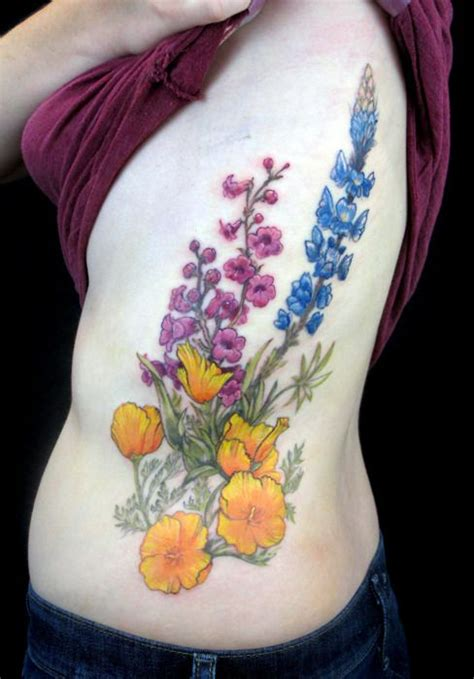 wild idea tattoo an entry from with and hair california poppy
