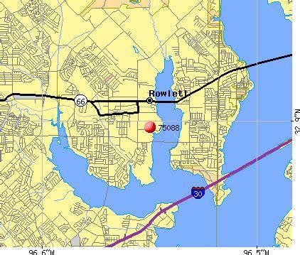 map of rowlett 75088 zip code rowlett profile homes
