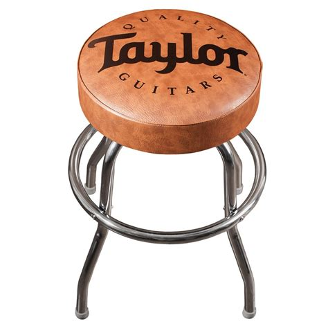 guitar bar stools taylor guitars bar stool brown at gear4music com