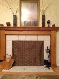 fireplace cover up insulated fireplace cover w pallet wood simple crafts diy pinterest fireplace cover and